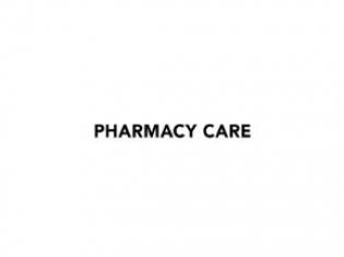 Pharmacy Care