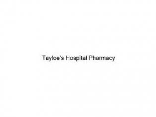 Tayloe's Hospital Pharmacy