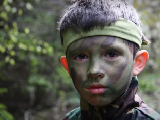Painful Childhoods May Prompt Some to Enlist
