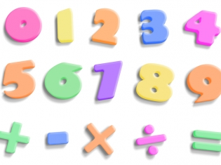 Numbers on Scales Linked to Math Tests