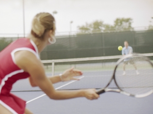 Menopause Doesn't Slow Tennis Moms