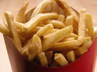 Seeing Fast Food Calories