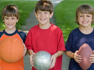 Team Sports Promotes Better Child Development