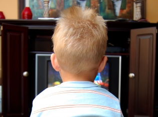 A Bit Too Much TV for Tots