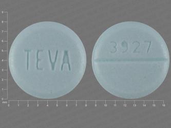 Valium Green Round Pill