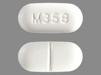 pill-image APAP 500 MG / hydrocodone bitartrate 7.5 MG Oral Tablet